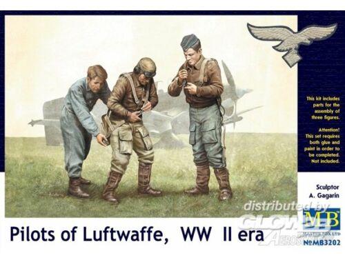 Master Box Pilots of Luftwaffe, WWII era. Kit 1 1:32 (3202)