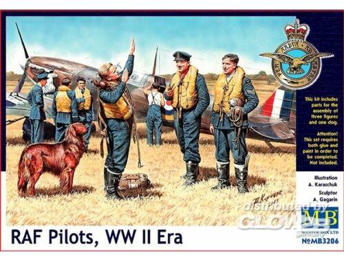 Master Box RAF pilots, WWII era 1:32 (3206)