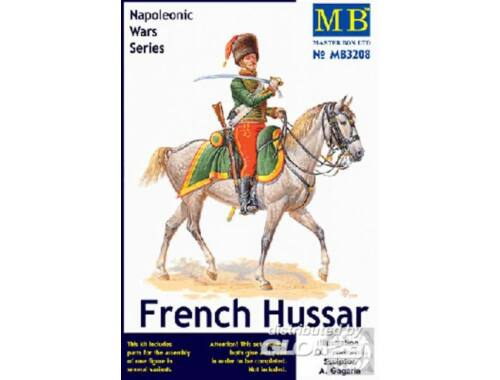 Master Box French Hussar, Napoleonic Wars era 1:32 (3208)