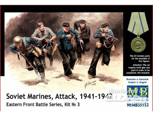 Master Box Soviet marinas Attack 1941-42 Easter Fro 1:35 (35153)