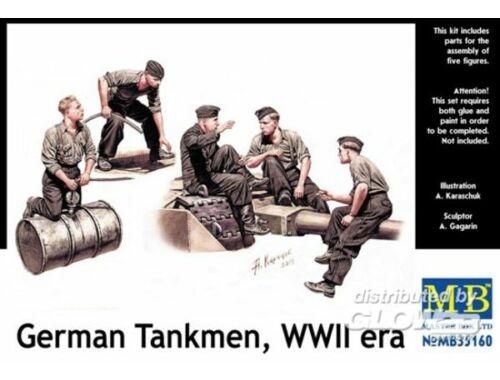 Master Box German tankmen, WWII era 1:35 (35160)