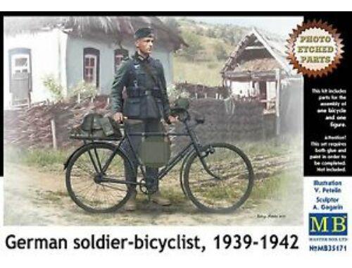 Master Box German soldier-bicyclist, 1939-1942 1:35 (35171)