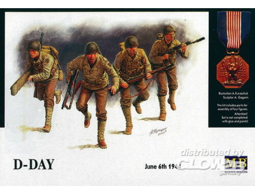 Master Box D-Day June 6th 1944 1:35 (3520)