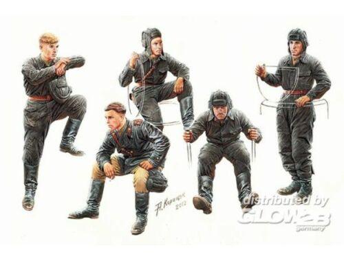 Master Box Soviet tank crew, 1943-1945 1:35 (3568)
