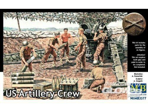 Master Box U.S. artillery crew 1:35 (3577)