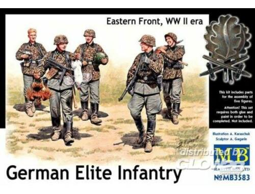 Master Box German Elite infantry,Eastern Front WWII 1:35 (3583)