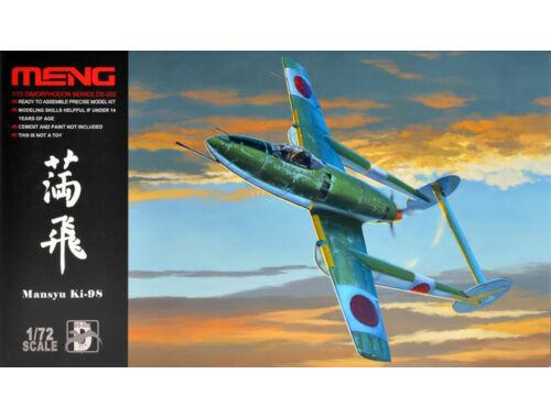 Meng MANSYU Ki-98 ATTACK Aircraft 1:72 (DS-002)