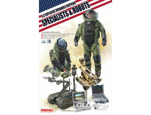 Meng U.S. explosive ordnance disposal special 1:35 (HS-003)