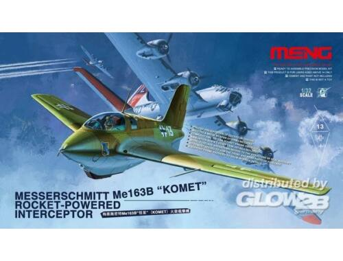 Meng Messerschmitt Me163B Komet Roket 1:32 (QS-001)