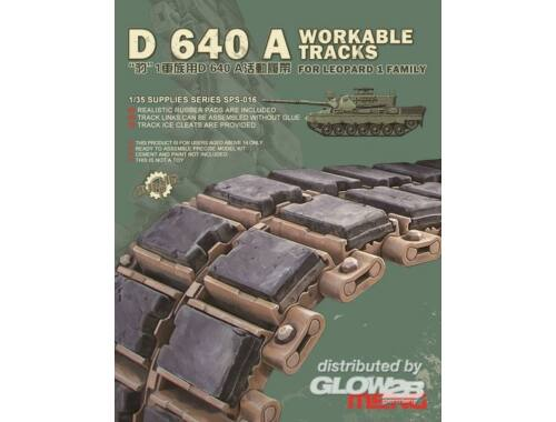 Meng D 640 A Workable Tracks for Leopard 1 Fa 1:35 (SPS-016)