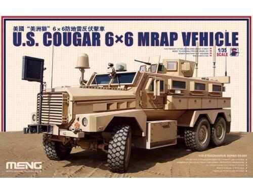 Meng U.S. Cougar 6x6 MRAP Vehicle 1:35 (SS-005)