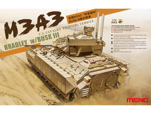 Meng U.S. Cavalry Fighting Vehicle M3A3 BRADL 1:35 (SS-006)
