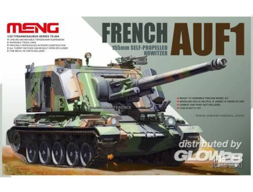 Meng French AUF1 155mm Self-propelled Howitze 1:35 (TS-004)
