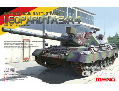 Meng Leopard I German Main Battle Tank 1:35 (TS-007)