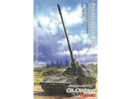 Meng GERMAN Panzerhaubitze 2000 SELF-PROPEL.H 1:35 (TS-012)