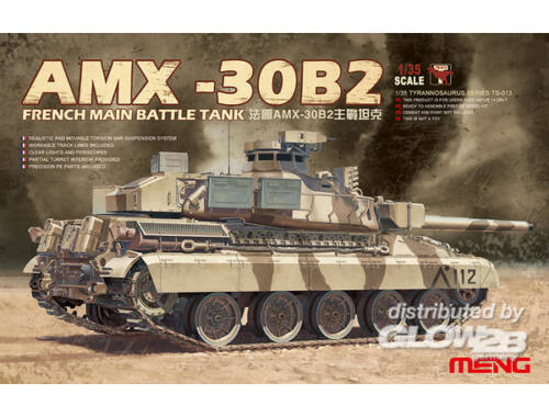 Meng French Main Battle Tank AMX-30B2 1:35 (TS-013)