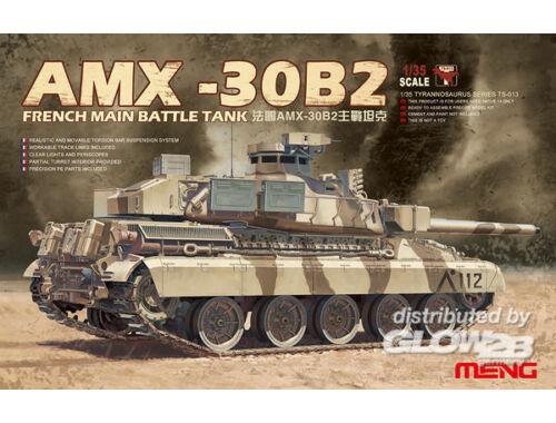 Meng French Main Battle Tank AMX-30B2 1:35 (TS-013)