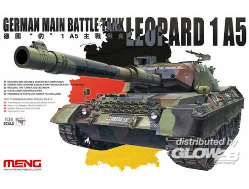 Meng German main Battle Tank Leopard 1 A5 1:35 (TS-015)