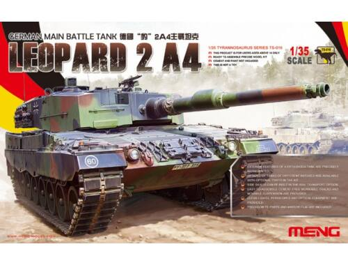 Meng German Main Battle Tank Leopard 2 A4 1:35 (TS-016)