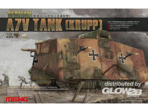 Meng German A7V Tank (Krupp) 1:35 (TS-017)