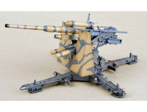 Merit German Flak 36 88MM Anti-Aircraft Gun 1:18 (60030)