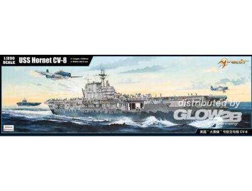 Merit USS Hornet CV-8 1:200 (62001)