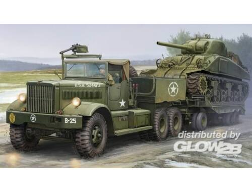 Merit US M19 Tank Transporter With Soft Top Ca 1:35 (63502)