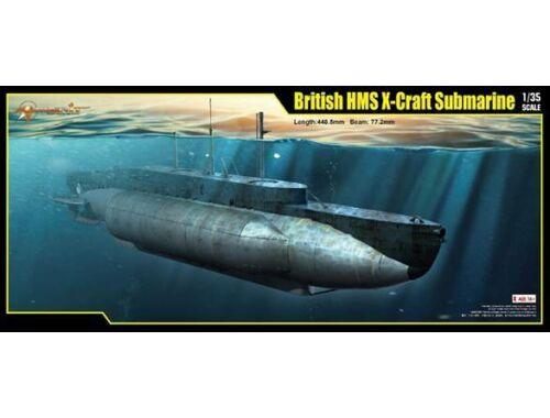 Merit British HMS X-Craft Submarine 1:35 (63504)