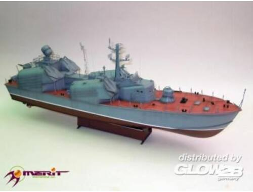 Merit Russian Navy OSA Class Missile Boat,OSA1 1:72 (67201)