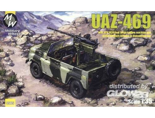 Military Wheels UAZ-469 North alliance Afganistan 1:35 (3505)