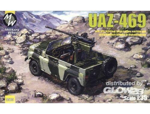 Military Wheels UAZ-469 North alliance Afganistan 1:35 (3505)
