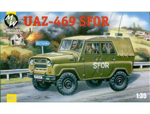 Military Wheels UAZ-469 SFOR 1:35 (3507)
