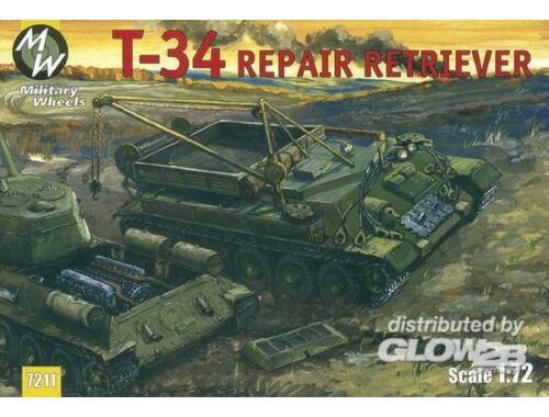 Military Wheels T-34/85 1:72 (7211)