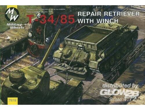 Military Wheels T-34/85 Repair Retriver 1:72 (7212)