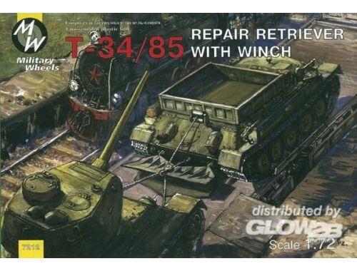 Military Wheels T-34/85 Repair Retriver 1:72 (7212)