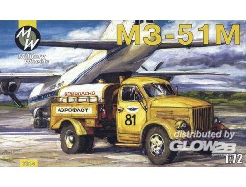 Military Wheels M3-51M on the GAZ-51 1:72 (7214)