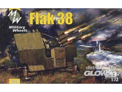 Military Wheels Flak 38 1:72 (7224)
