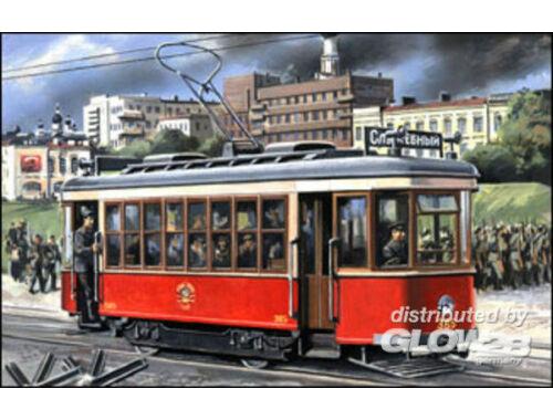 Military Wheels Tram-car Kh 1:72 (7230)