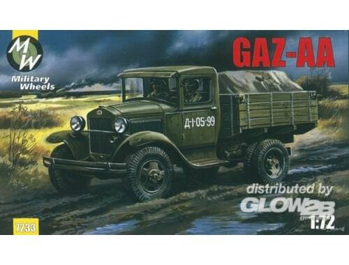 Military Wheels GAZ-AA 1:72 (7233)