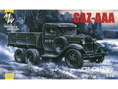 Military Wheels GAZ-AAA 1:72 (7234)