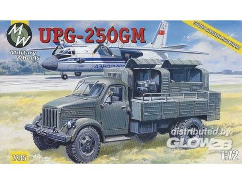 Military Wheels UPG-250GM on the GAZ-51 1:72 (7235)