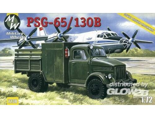 Military Wheels PSG-65/130B on the GAZ-51 1:72 (7238)
