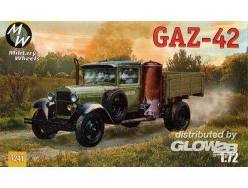 Military Wheels GAZ-42 Soviet truck 1:72 (7241)