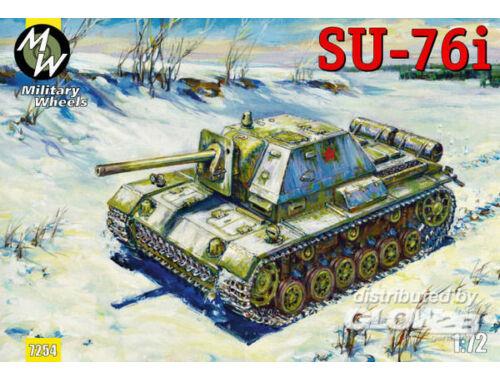 Military Wheels SU-76i 1:72 (7254)
