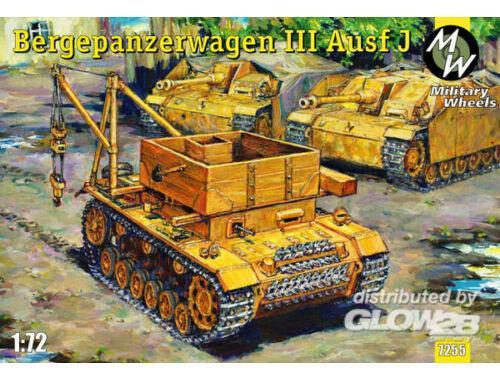 Military Wheels Bergpanzerwagen III Ausf.J 1:72 (7255)