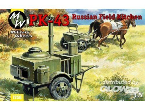Military Wheels PK-43 Russian field kitchen 1:72 (7256)