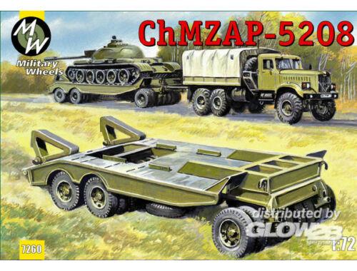Military Wheels ChMZAP-5208 trailer 1:72 (7260)