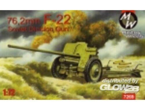 Military Wheels F-22 Soviet 76, 2mm division gun 1:72 (7269)