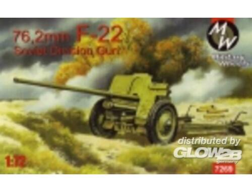 Military Wheels F-22 Soviet 76, 2mm division gun 1:72 (7269)