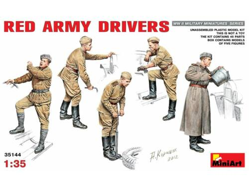 Miniart Red Army Drivers 1:35 (35144)